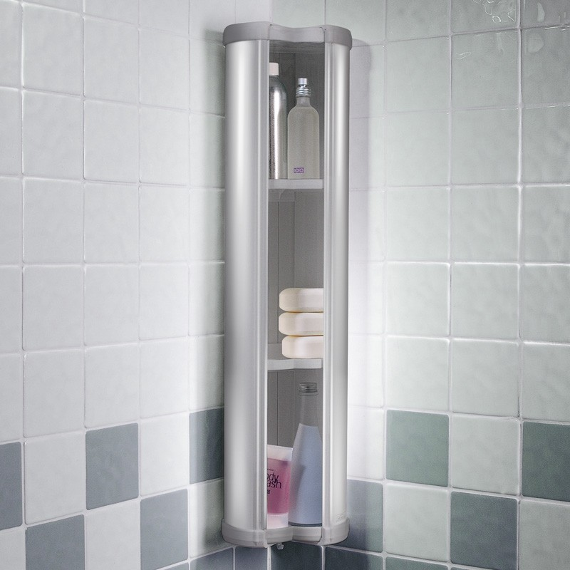 Showerlux Stowaway Shower Caddy Soap Shampoo Holder In