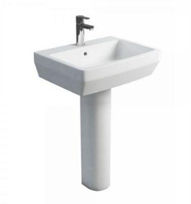 britton cube basin and pedestal