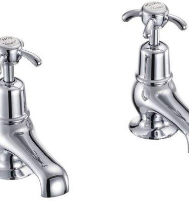 Anglesey bath pillar taps