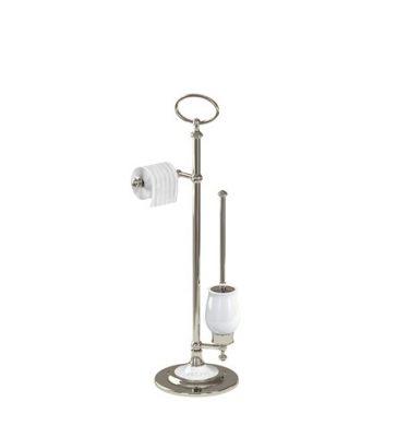 ARC freestanding toilet brush and toilet roll holder