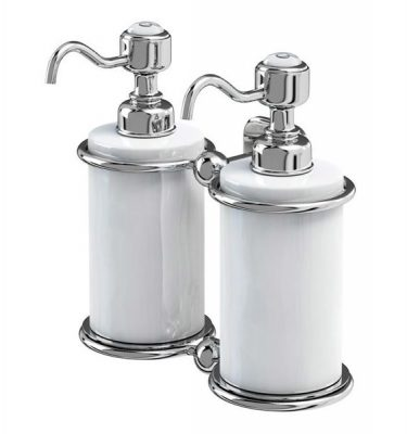 double soap dispenser