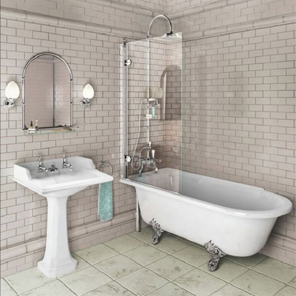 Burlington Hampton Shower Bath | Windermere Tiles & Bathrooms